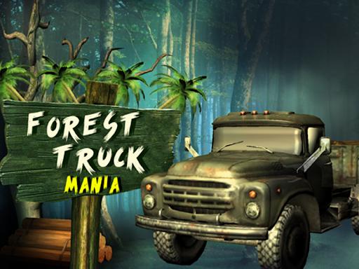 3D森林卡車遊戲