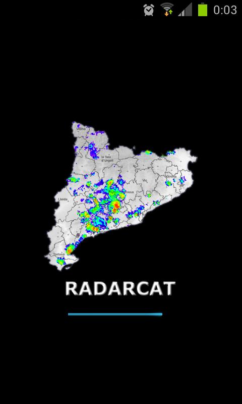 RadarCat- screenshot