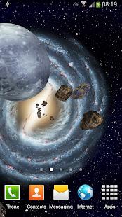 3D Space Live Wallpaper Screenshot Thumbnail