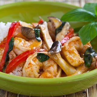 Thai Shrimp Curry.
