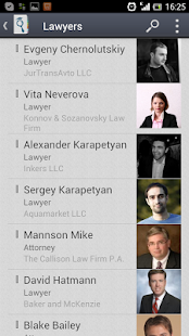 JurFinder lawyer & attorney - screenshot thumbnail