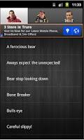 Screenshot of Bear Grylls Soundboard