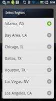 Screenshot of Food Trucks - Map and Twitter