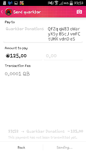 Quarkbar Wallet- screenshot thumbnail
