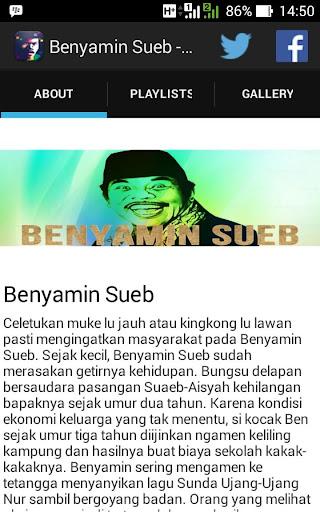 Benyamin Sueb - Fans App