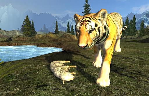 飢餓的老虎模擬襲擊遊戲