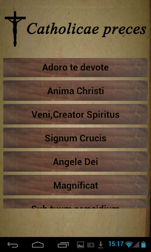 Download Catholic prayers in Latin Google Play softwares