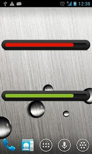 Battery bar uccw skin- screenshot thumbnail