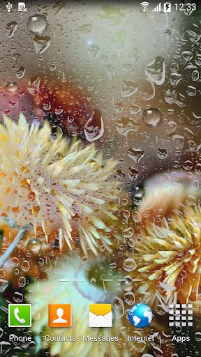 Autumn Flowers Live Wallpaper