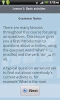 Screenshot of L-Lingo Learn Arabic Pro