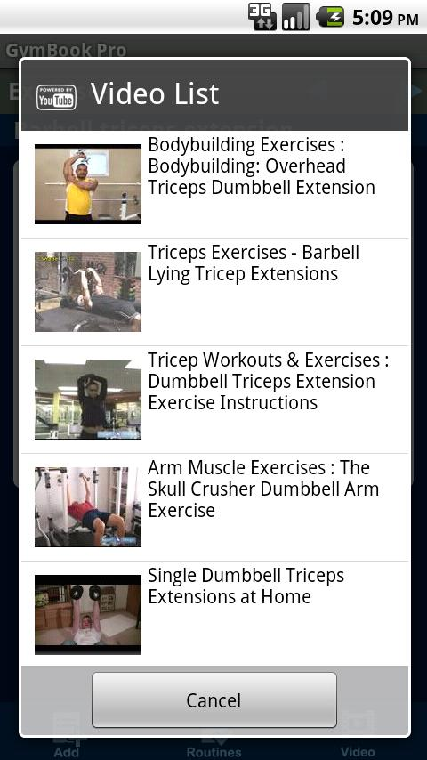 GymBook Pro Fitness & Workout - screenshot