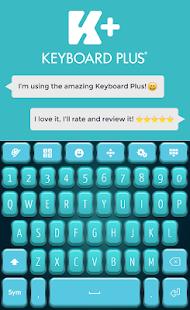 Teal HD Keyboard - náhled