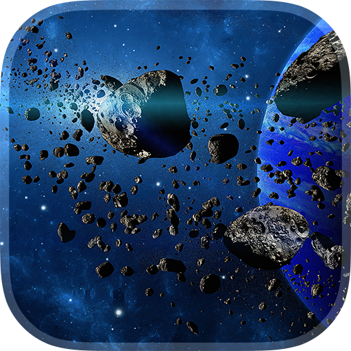 個人化App|小行星動態壁紙 LOGO-3C達人阿輝的APP
