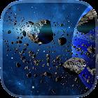 Asteroides Fondo Animado icon