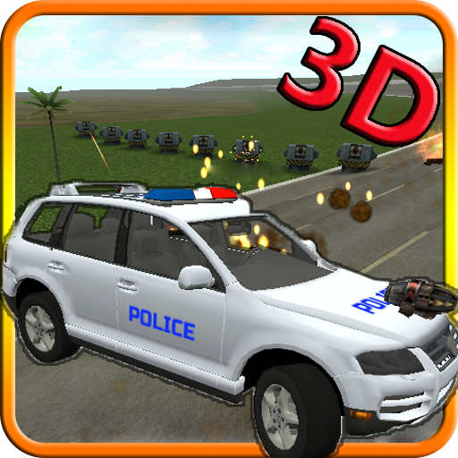 Police Jeeps Tower Defense 3D 賽車遊戲 App LOGO-APP試玩