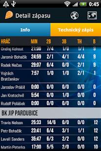 ČBF - Český basketbal v mobilu - náhled