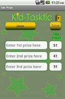 Screenshot of Kid-Tasktic