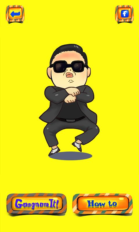Gangnam Tutorial - screenshot