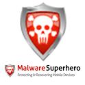 Malware Superhero logo