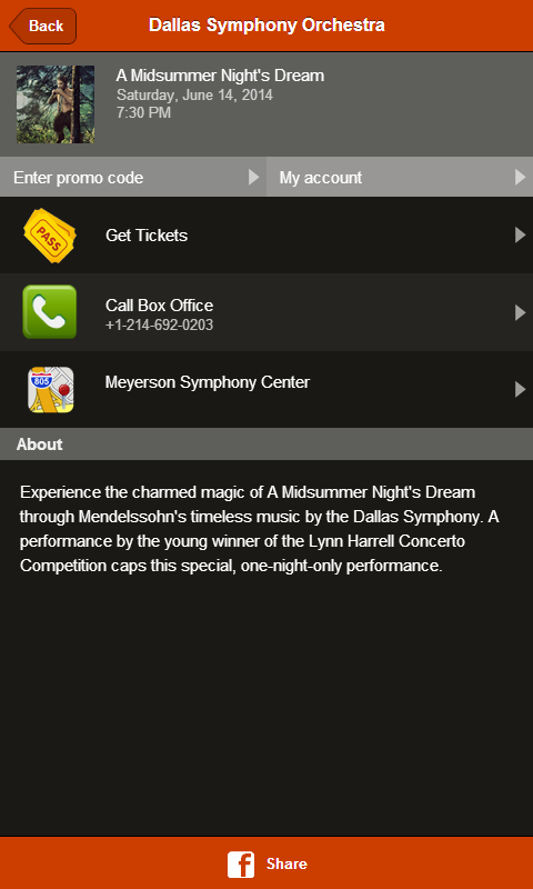 Dallas Symphony Orchestra- screenshot