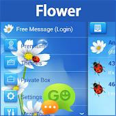 GO SMS Pro Flower