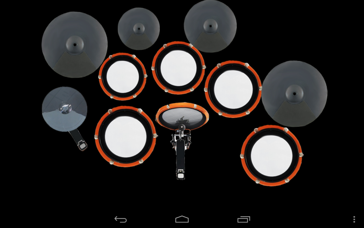 Drum set: drums - screenshot