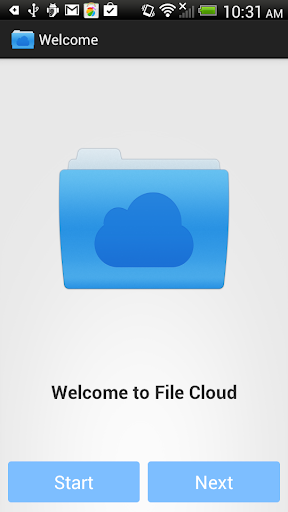 File cloud App