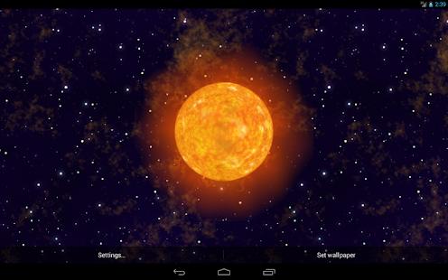 Solar Flare Live Wallpaper