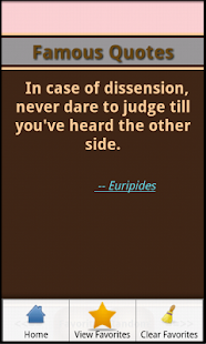 Famous Quotes and Authors - screenshot thumbnail