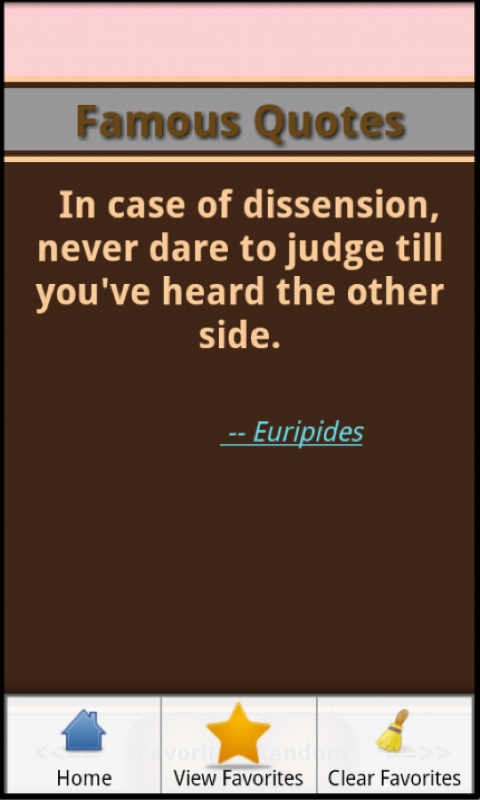 Famous Quotes and Authors - screenshot