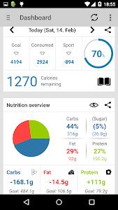 Calorie Counter -FDDB Extender v2.7.7