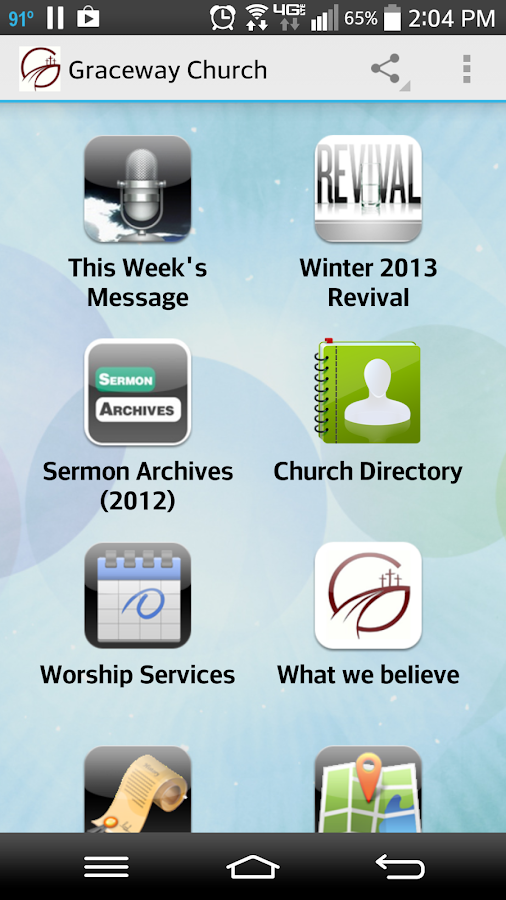 Graceway Church - screenshot