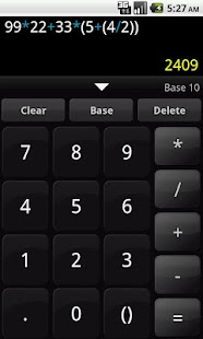Any Base Calculator - screenshot thumbnail