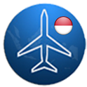 Indonesia Flight Finder icon