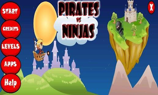 Pirates vs Ninjas- screenshot thumbnail