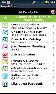 LACountyLib- screenshot thumbnail