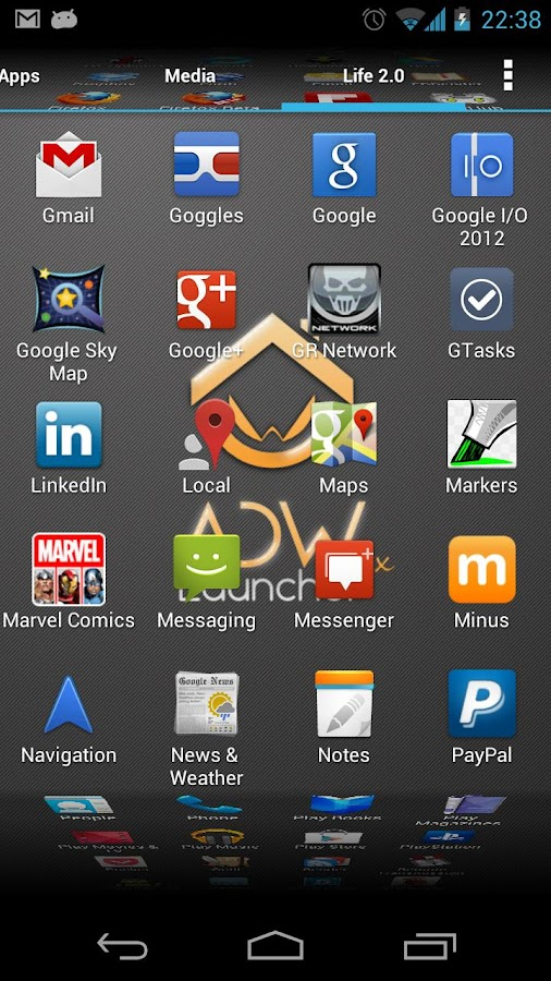 ADWLauncher EX- screenshot