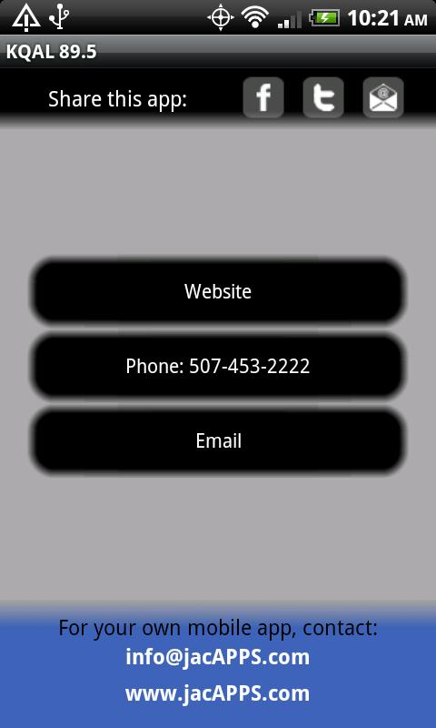 KQAL 89.5 - screenshot