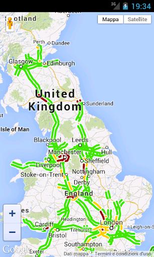 UK Traffic Map