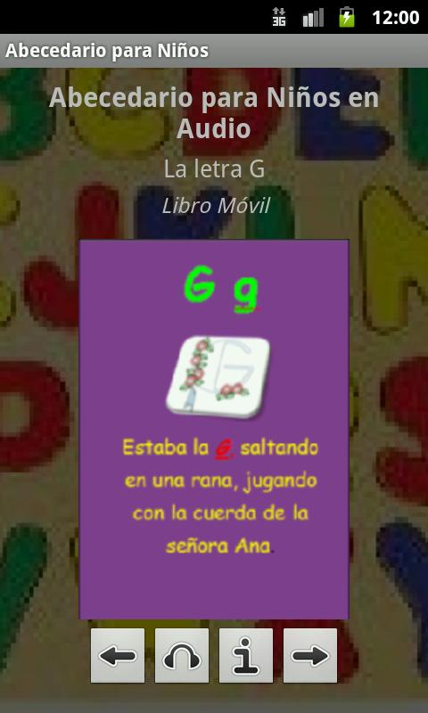 Abecedario para Niños en Audio - screenshot