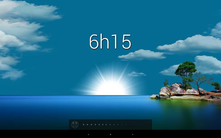 android Glimmer (luminous alarm clock) Screenshot 3