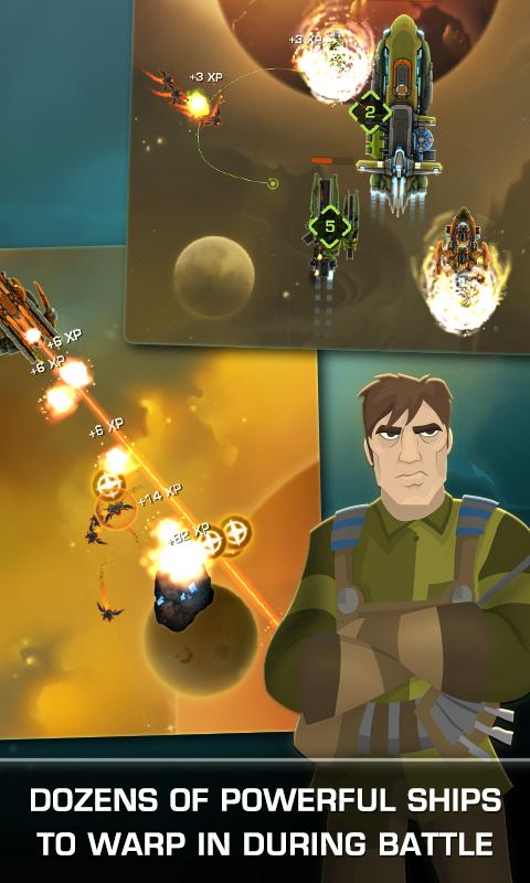 Strikefleet Omega™ - Play Now! - screenshot