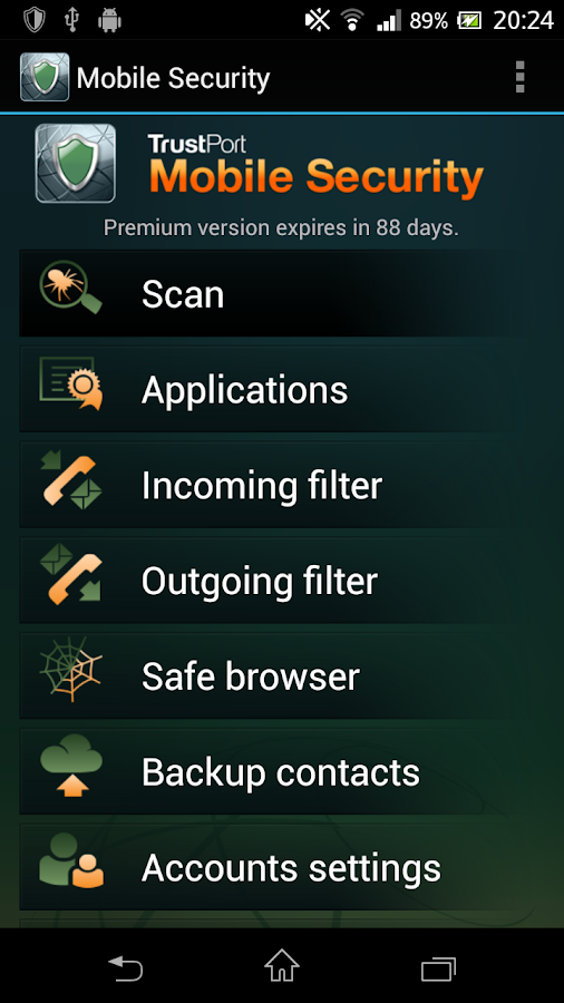 Mobile Security - screenshot