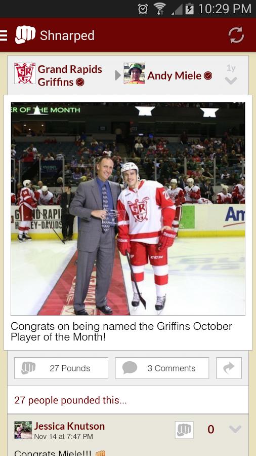 Shnarped Hockey - screenshot