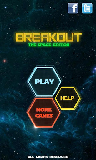Breakout - The Space Edition