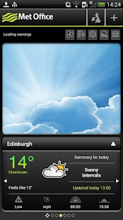 Met Office Weather Application - screenshot thumbnail