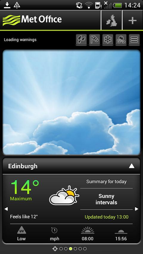 Met Office Weather- screenshot
