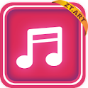 pinkmusic Theme GO Launcher EX logo