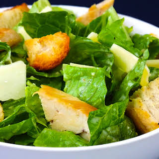 Chicken Caesar Salad.