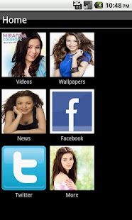 Miranda Cosgrove Fan App - screenshot thumbnail
